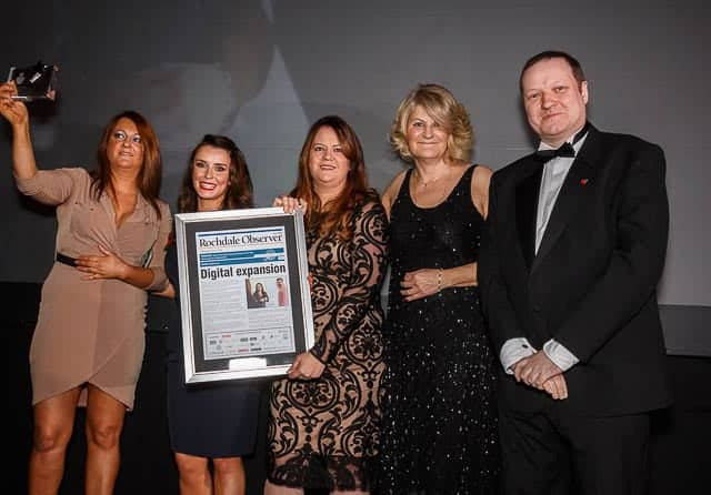 Winners Manchester's Best Up and coming business
