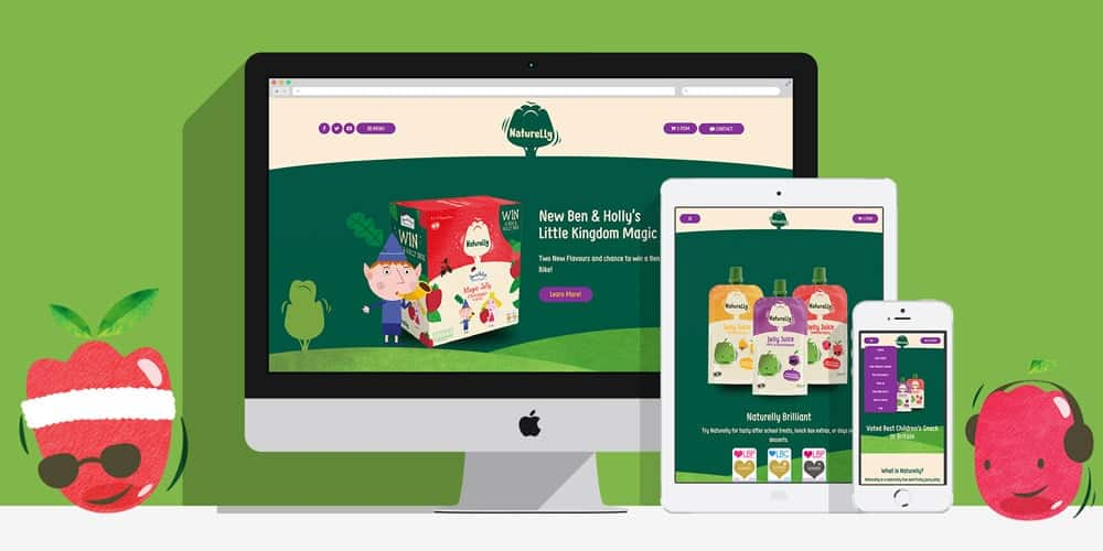 Naturelly Jelly Juice: By Factory, Digital Agency Manchester