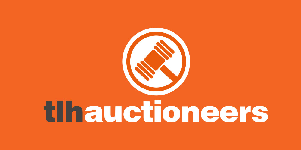 TLH Auctioneers Branding: By Factory, Digital Agency Manchester