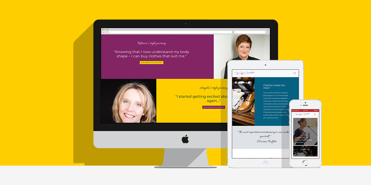 A Makeover For The Style Counsellor: By Factory, Digital Agency Manchester