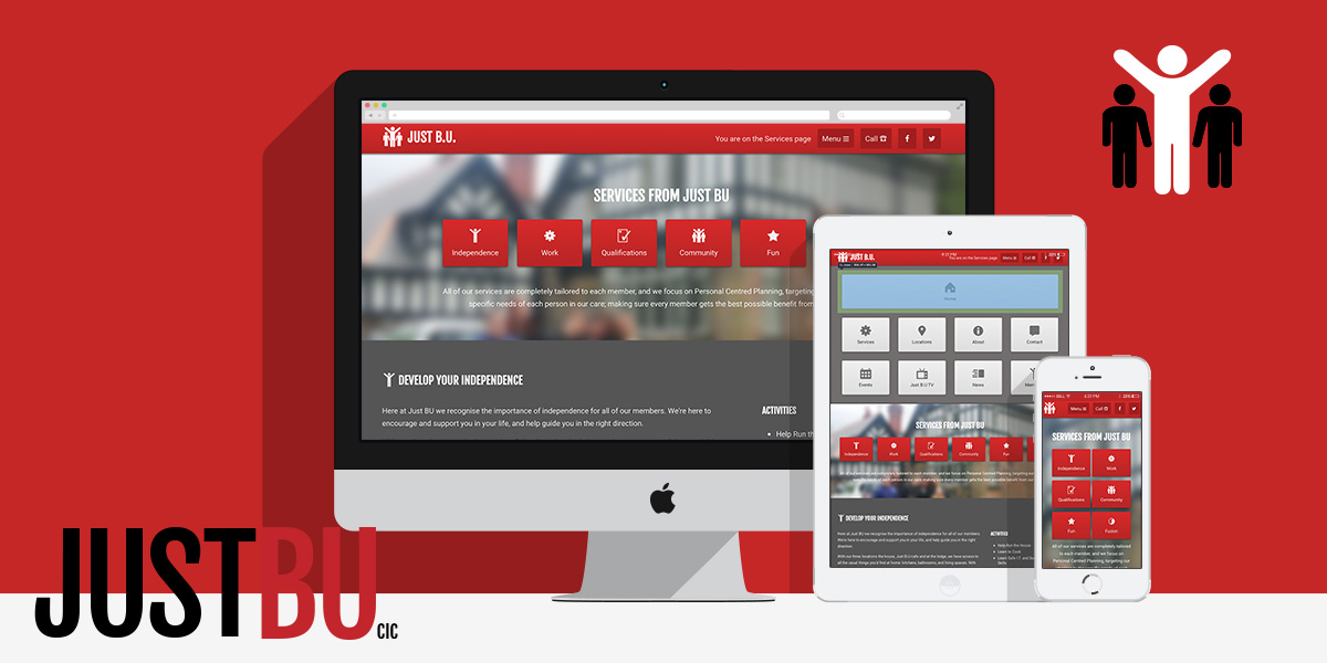 Brand and Web Presence for Just BU: By Factory, Digital Agency Manchester