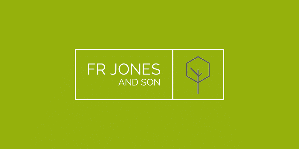 FR Jones Logo for case study of Google Ad Campaigns